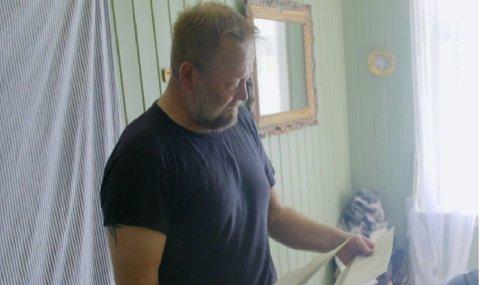 Asgeir Borgemoen fikk under oppholdet inne på Torpet vite at han skulle bli far for første gang.