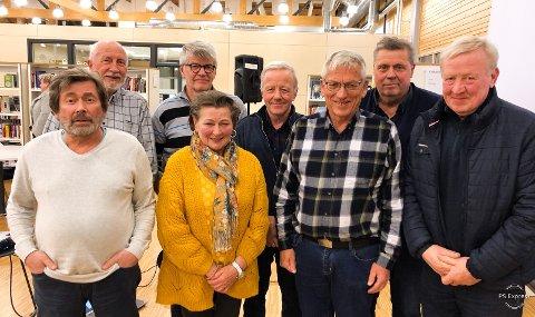 Best i januar: Ringstad turn med Inge Østrem (fra venstre), Magne Haug, May Høvik, Odd Solum, Helge Bjerkli, Per-Ole Kløvstad, Jan Sollie og Jan Erik Langseth.