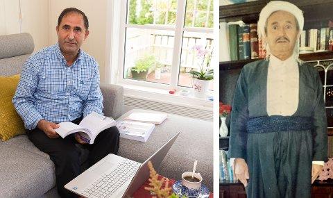 STOR JOBB: Osman Kawkabishad har brukt flere år på skrive boken om sin egen far, Najmadin. Han har reist verden rundt for å intervjue folk om faren.
