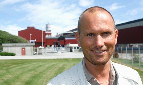 NY KONTRAKT: administrerende direktør Rune Lilledahl. Arkivfoto: Terje Størksen.