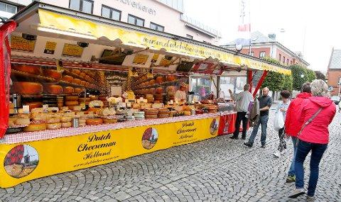 MARKED: Matmarkedet besøker Åkrehamn og Haugesund i løpet av våren og sommeren. Arkivfoto.