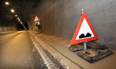 Korfjelltunnelen er en av 12 tunneler som skal bli sikrere når Statens vegvesen tar fatt på en storstilt oppgradering av tunneler i nord. Foto: Øyvind Bratt