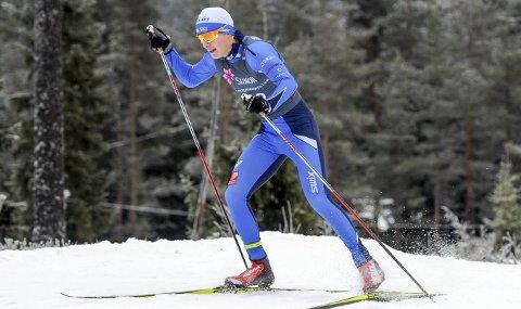 NESTEN TOPP 50: Aleksander Slydahl, Mosjøen hadde en jevn serie plasseringer under norgescupen på Nes. Han fikk en 52. plass fredag, 61. plass på sprinten og en 55. plass på søndagens klassiske enkeltstart.  FOTO: ARNE BRUNES