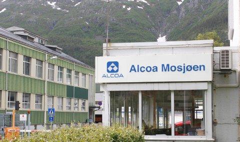 ALCOA: Det kan bli opp mot 60 grader på Alcoa i helga - nærmere bestemt i elektrolysehallen.