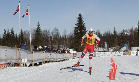 FANTASTISK NM-START: 17-åringen Preben Horven fra Bossmo og Ytteren IL fikk delta på 10 km klassisk i senior-NM og gjorde et fantastisk godt løp.
