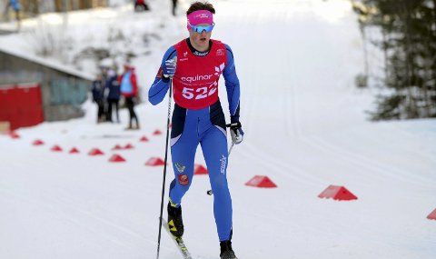 TØFF START: Morten Hjørnerød fikk en tøff start i norgescupen med 10km klassisk fredag. I helga skal han etter planen gå både sprint og skøyting.