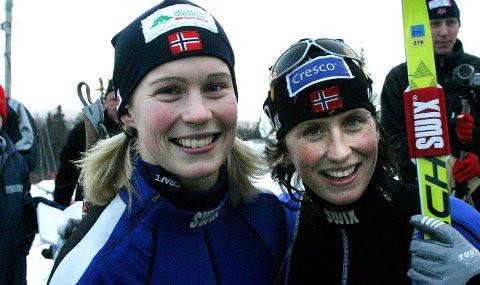 BANKET BJØRGEN: Guro Strøm Solli fra Drevja IL vant sprinten på Beitostølen i 2004, og banket Marit Bjørgen. De var sammen på landslaget en periode, og nå har Guro studert Bjørgens trening. Torsdag disputerer hun til doktorgraden på denne forskingen.