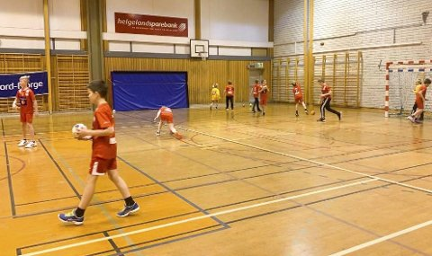 INGEN TRENING: Det blir ikke håndballtrening i Kippermohallen de neste fjorten dagene.  Foto: Evar Bjørhusdal