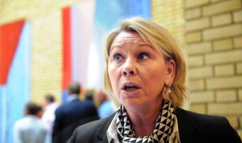 BESTEMT NEMND: Kommunaldepartementet har bestemt sammensettingen av fellesnemnd. Kommunalminister Monica Mæland mener det nå er viktig at fylkestinget i Finnmark utnevner sine medlemmer.