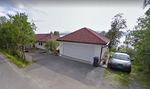 FIKK HELSEPLAGER: Dette er huset Kjetil Emil Olsen og Anita Michalsen kjøpte i 2017. Paret bor i dag ikke i huset, på grunn av helseplager.