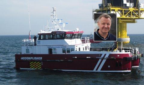 FILMREKVISITT: Båten Accomplisher som er laget i Grovfjord fikk en rolle i Hollywoodfilmen «Tenet».