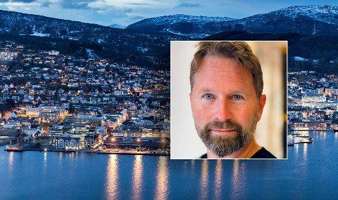 Kommunkasjonssjef Øivind Arvola i Harstad kommune.