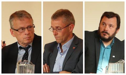 Ordførerkandidatene Ole-Gerhard Rinø (Ap) og Stig Tore Skogsholm (H), innrømmer at de er bekymret for hvor lojaliteten til Arne Langset (By og Land) ligger. I Alstahaug, eller hos arbeidsgiver Rana. Langset selv sier at han vil si opp jobben i Rana dersom han får en større politisk rolle i Sandnessjøen.
