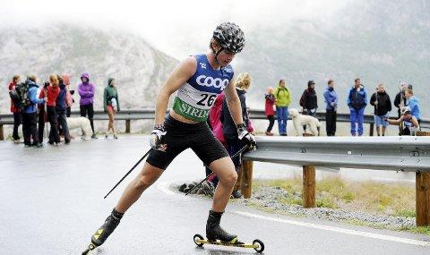 STILLER: Kasper Inderhaug har hatt en trøblete treningssommer. Nå tester han formen på Blink-festivalen. Foto: Svein Halvor Moe