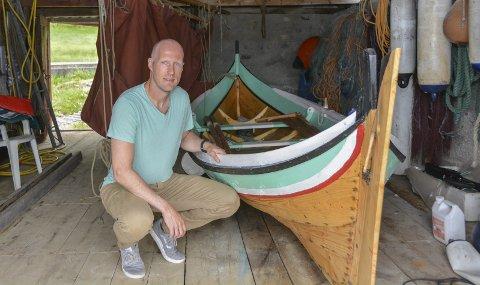 I denne Bindalsfæringen rodde Gaute Skogtun (bildet) saman med kompisen Henning Sørum 538 kilometer på ti dagar.