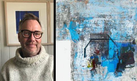 Yngve Henriksen er ein av kunstnarane som skal ha utstilling på Galleri G Guddal i år. (Pressefoto).
