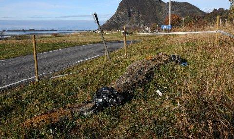 Bot som svir: Firmaet som kjørte ned Langsteinen på Engeløya, Steig Transport AS, får kraftig bot.