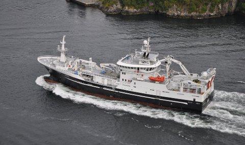 """REKORDPRIS: Lofoten Viking AS måtte ut med 4,2 millioner for å sikre seg loddefangsten til """"Vendla"""""""