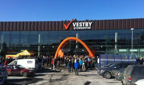Vestby Storsenter er i ferd med å fylle opp senteret.