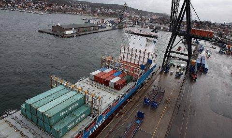 Dystert: – Det er etter min mening grunn til å hevde at planene for Moss havn er bygget på sviktende forutsetninger, skriver Trond Marthinsen. foto: Geir Hansen