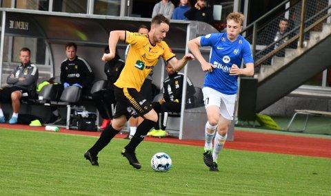 TIL SKEID: Øystein Vestvatns kontrakt med Moss FK er terminert og han har meldt overgang til Skeid, hvor han skal spille opprykkssluttspill.