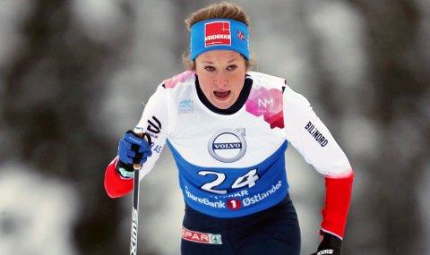 NM Ski Gåsbu 2018. Sprint prolig.  Anna Svendsen