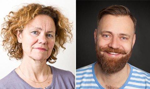 LEGER: Anne Eskild, professor ved Institutt for klinisk medisin og overlege ved Kvinneklinikken, og Thorbjørn Brook Steen, fødselslege og forfatter av boken «Nytt liv».