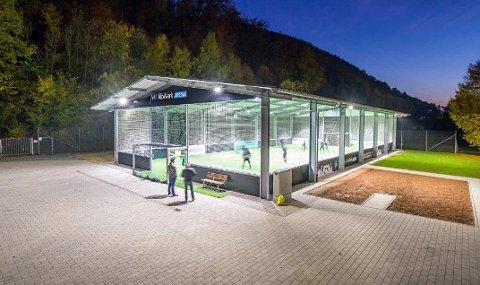 FIKK NEI: Det tyske minihallkonseptet «McArena» er ønsket til Tromsø av Tromsø kommune. Tirsdag ble det et politisk nei til å kunne bruke av de avsatte millionene til idrettsanlegg i byen for å lage en slik friluftshall.