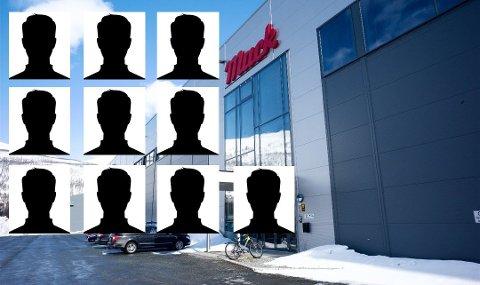 UNDERSLAG: Mack-fabrikken i Nordkjosbotn i Balsfjord.