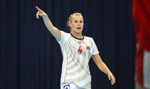 Mari Finstad Bergum og det norske juniorlandslaget i håndball er klare for EM-sluttspillet. Foto: Kvinneidrett.no/Andreas Kristoffer Berge