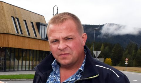 IKKE MER DOKKA: Stian Ryen i Vinger Dokka AS er ikke fornøyd med måten han som utbygger har blitt mottatt i Nordre land kommune.