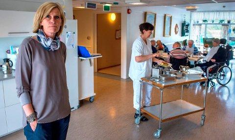 - Jeg er veldig glad for at det er blitt en endring på måltidsrutinene ved kommunens eldreinstitusjoner. Det var på tide, sier kommunestyrerepresentant Tove Beate Skjolddal Karlsen (H).