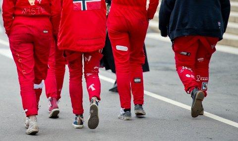 ER DET VERDT DET?  Tusenvis av russ er nå i gang med feiringen. Foto: Jon Olav Nesvold / NTB scanpix