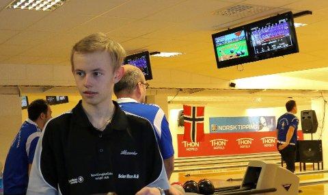 SOLID: Unge Alexander Beck viste solid spill da SOlør BK åpnet eliteserien med seier.