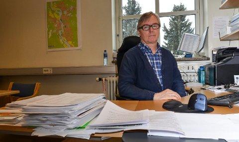 NORMALÅR: Fjorårets klagebunke var betydelig høyere enn i år, konstaterer Svein Kåre Hovde.
