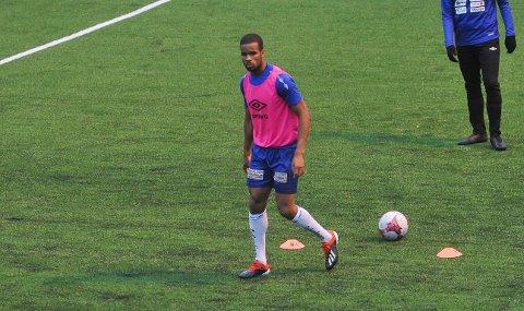 MED VIDERE: Kyle Richard Bailey blir Nybergsund-spiller også i 2020.