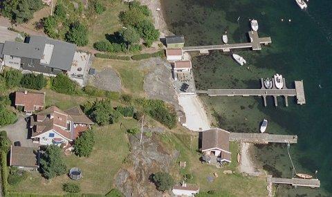 Det er bygningene nærmest til venstre som planlegges revet.