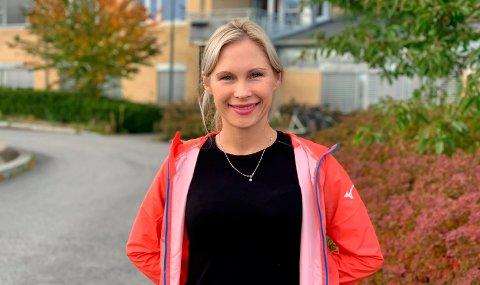 FIKK SMAKEN PÅ LANGLØP: De siste årene har Sofie Helgedagsrud fra Brattås virkelig fått smaken på Maraton.