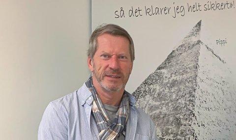 Hjemmekontor: Keops-leder Morten Kjørholt Pettersen forteller at de periodevis har kjørt hjemmekontor.