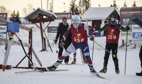 STArT: Kasper Ågheim Kalkenberg, Skonseng UL, legger ut på sitt første renn for sesongen. 13-åringen har satt seg store mål som skiskytter, men så har han noe å slektes på. Nesten alle i familien driver eller har drevet med skiskyting.