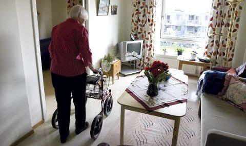 Flere hjemme: Det forventes at flere skal få hjelp hjemme i årene som kommer. Det krever økt prioritering til hjemmebaserte tjenester i Ringsaker kommune.