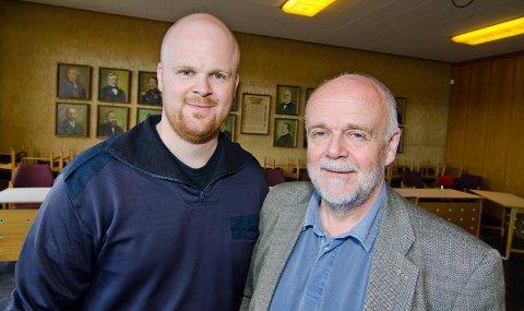 Lars Ivar og Per Ivar Pedersen. 15. september 2011