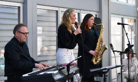 TIL TYRISTRAND; Trond Lien, Kristin Bjerkerud og Frøydis Grorud. Her fra en tidligere anledning.