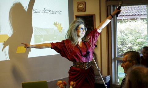LEDEREN: Birgit Nyen er daglig leder ved Sandetun aktivitetssenter. (Arkivfoto)