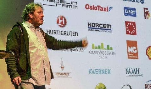 Optimist: Den tidligere sandefjordingen Frederic Hauge mener det er all grunn til optimisme for å løse klimautfordringene.  Alle Foto: Paal Even Nygaard