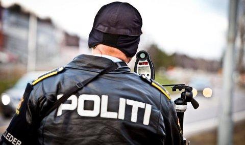 UP: Utrykningspolitiet sjekket ca. 5.000 bilister i Buskerud, Vestfold, Telemark og Agder-fylkene onsdag.