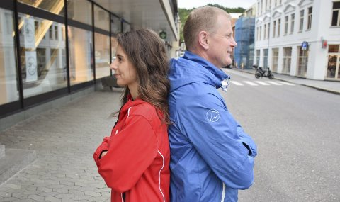 ÉN BLIR VALGT: Lozan Balisany (Ap) og Erlend Larsen (H) er tredjekandidater fra Vestfold. Hvem av de to som kommer inn på Stortinget, kan avgjøre hvem som får regjeringsmakta.