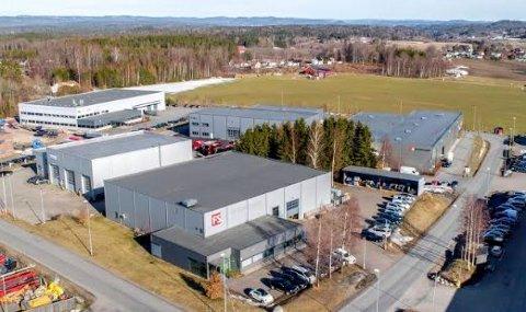 GIKK FORT: Næringseiendommen i Nordre Kullerød 15 trakk raskt ti interessenter, og ble solgt i en fei.