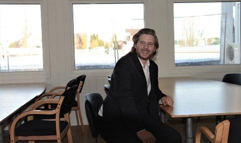 Gleder seg: leder i Sarpsborg bandyklubb Anders Olsson gleder seg til åpningen av klubbrommet på lørdag.