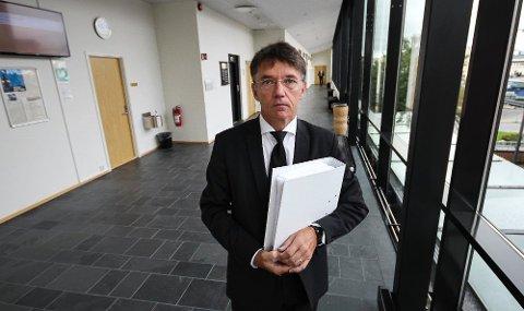 BOSTYRER: Oddgeir Lydersen er en av advokatene som tingretten benytter som bostyrer. Denne uken fikk han oppdraget med konkursen i Malerguttene AS.